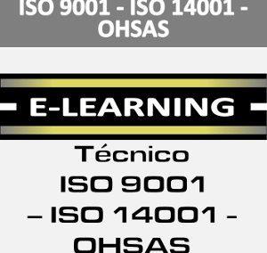 CURSO ON LINE ISO 9001 14001 Y OHSAS
