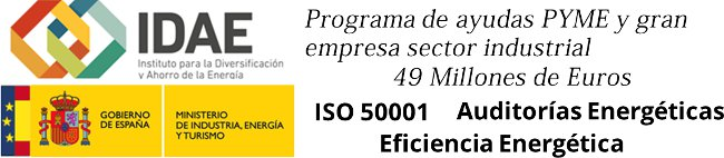 IDAE destina 49 Millones de Euros a la Eficiencia Energética