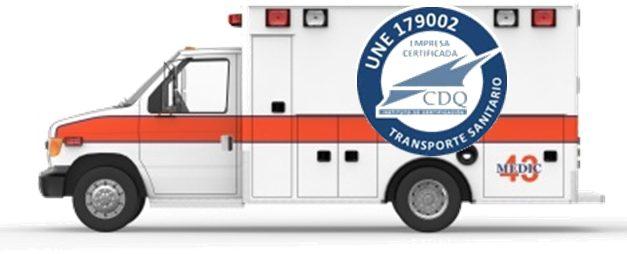 Nuevos Requisitos a Empresas de Transporte Sanitario UNE 179002