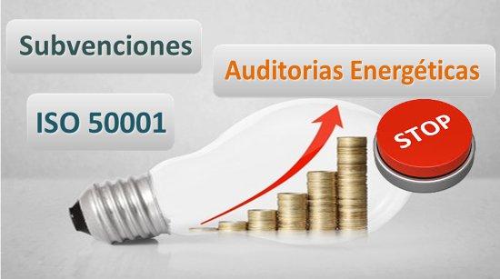 Subvenciones ISO 50001 y Auditorias Energéticas Cataluña