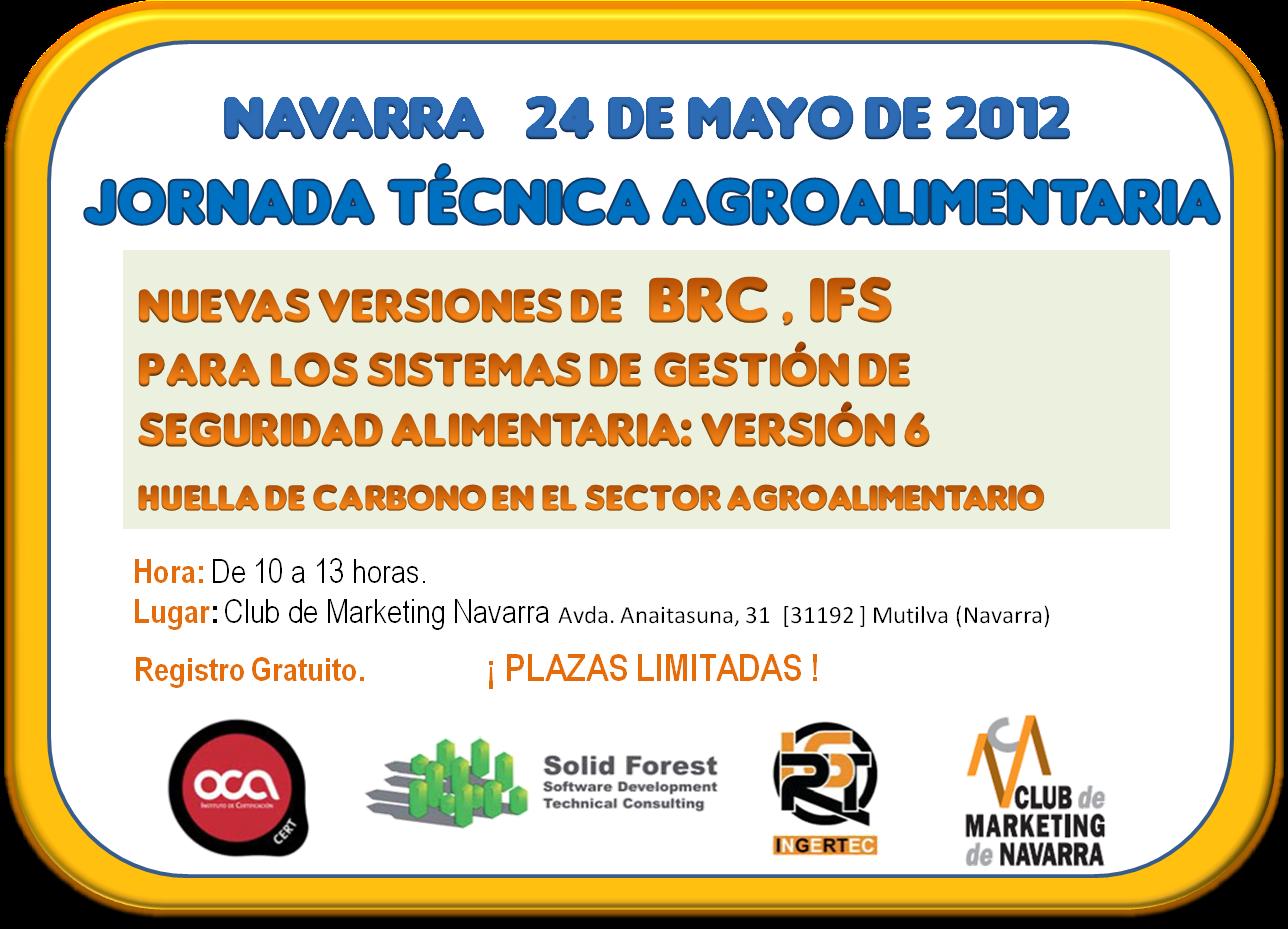 Jornadas Agroalimentaria BRC e IFS Navarra