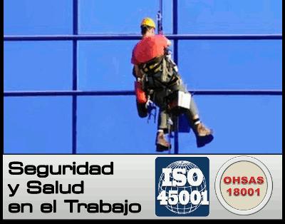 La Norma ISO 45001 sustituirá a la Norma OHSAS 18001