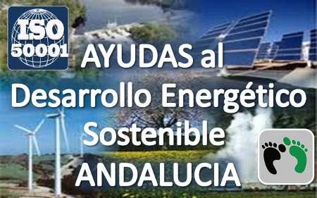 Ayudas implantación ISO 50001 Andalucía