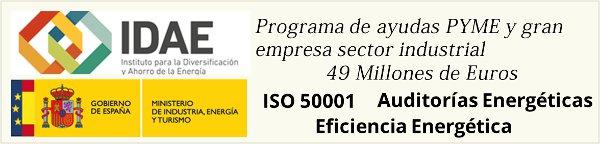 49 Millones para Implantar ISO 50001