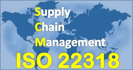 ISO / TS 22318  Guía para la continuidad de la cadena de suministro.