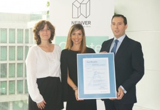 NEINVER, primera empresa del sector retail en Europa que logra la ISO 50001
