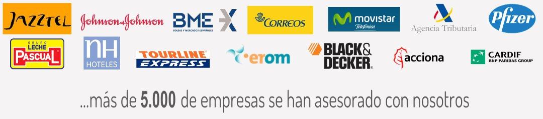 Empresas asesoradas por Normas ISO